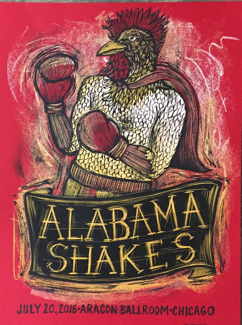 Image of Alabama Shakes Aragon Ballroom