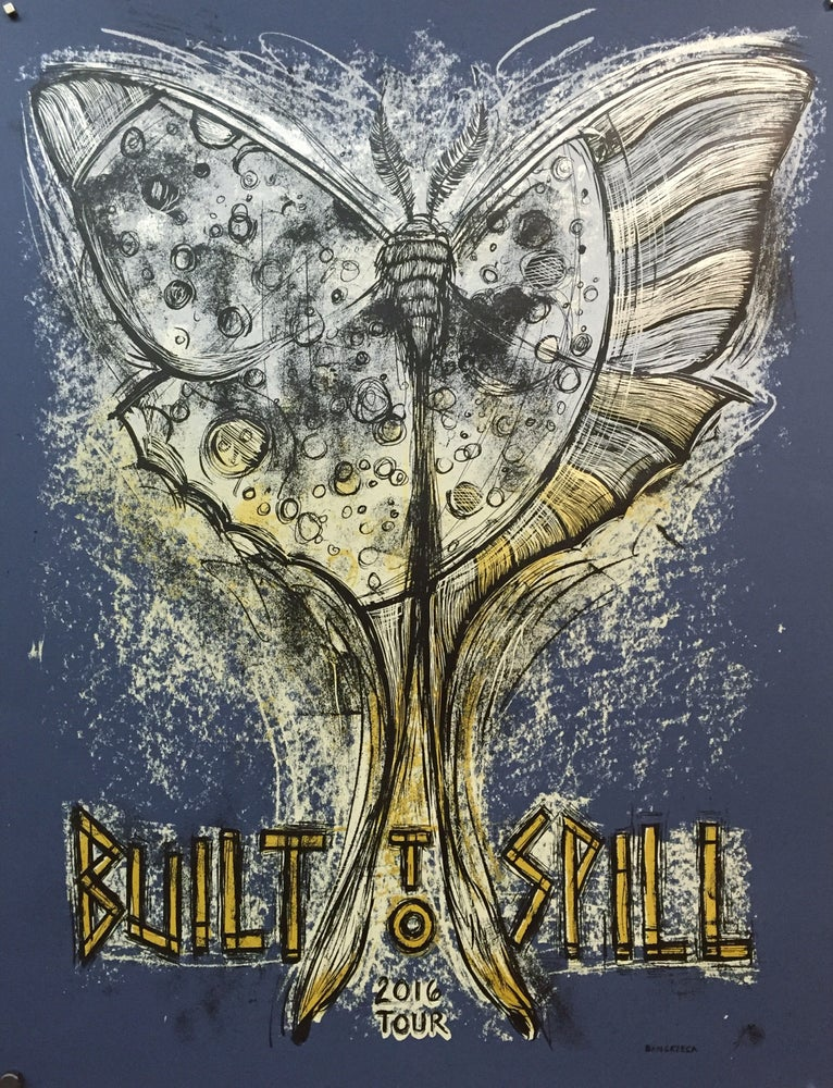 Image of Built To Spill Untethered Moon 2016 Tour