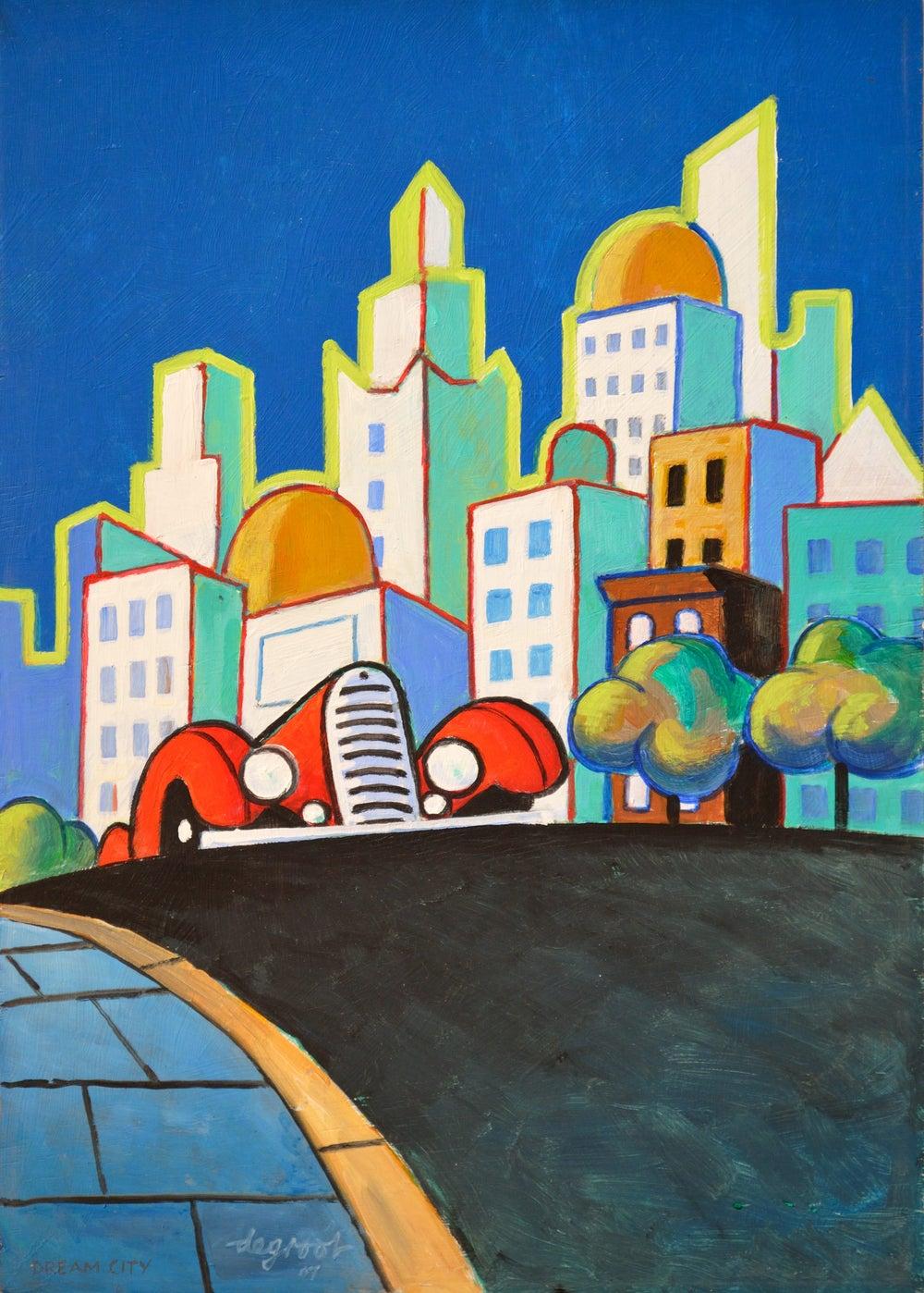 "Image of ""Dream City"" by Dick de Groot #37"
