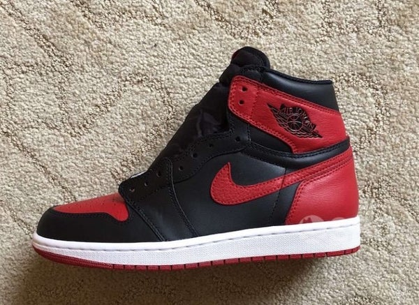 Image of AIR JORDAN 1 BRED | MEN