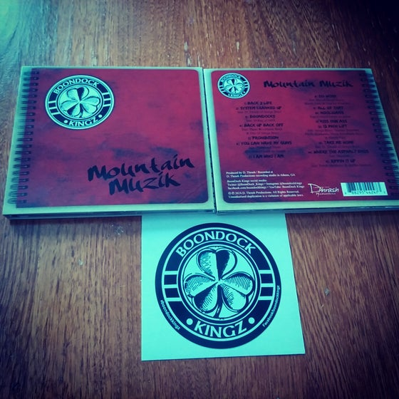 Image of Mountain Muzik CD and Decal Pack