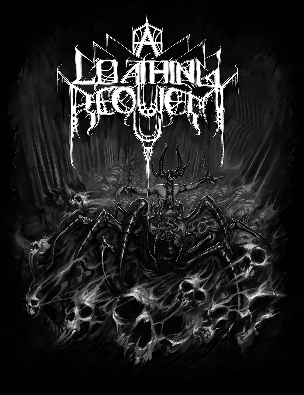 Image of A Loathing Requiem - Arachnid Tee