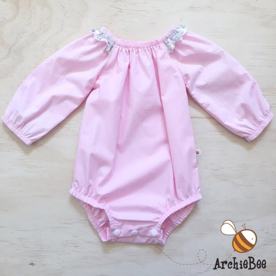 Image of Pink Basics Romper