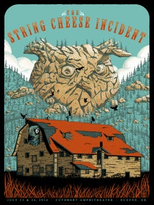 Image of The String Cheese Incident in Eugene, OR Poster