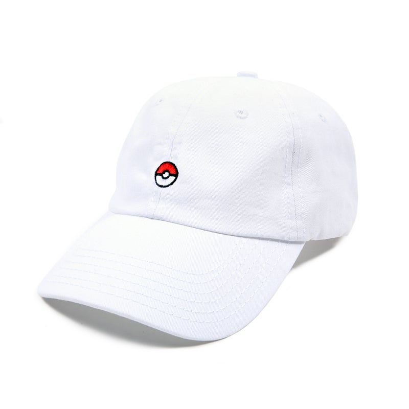 Image of Gotcha! Low Profile Sports Cap - White