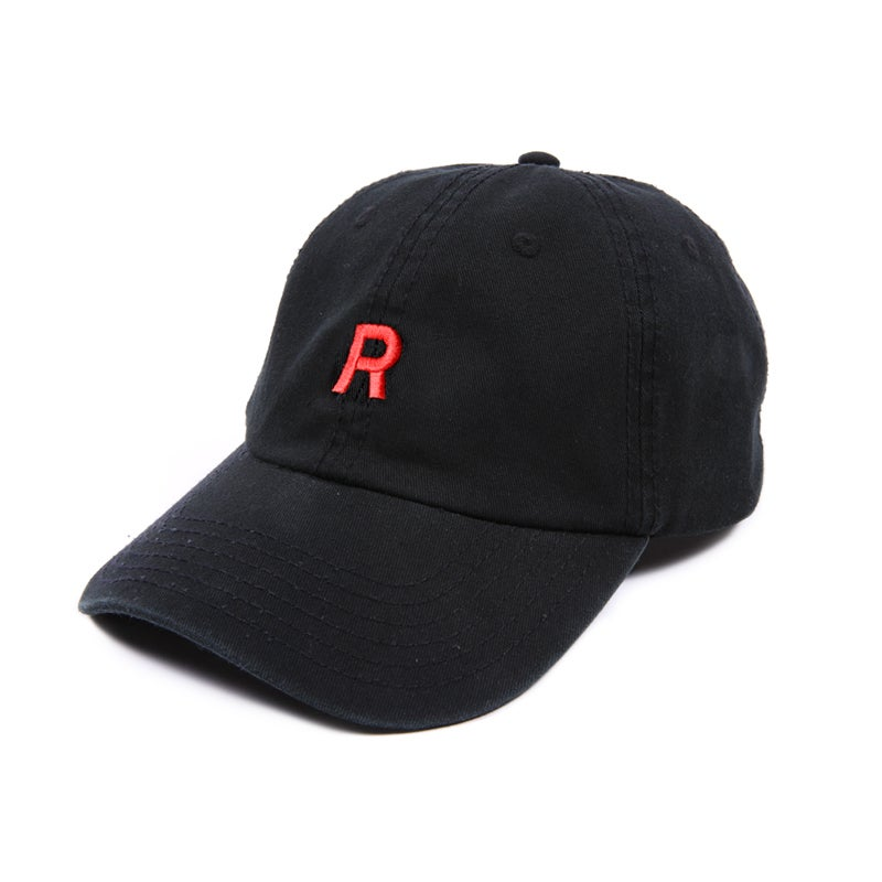 Image of Team Rocket Low Profile Sports Cap - Black