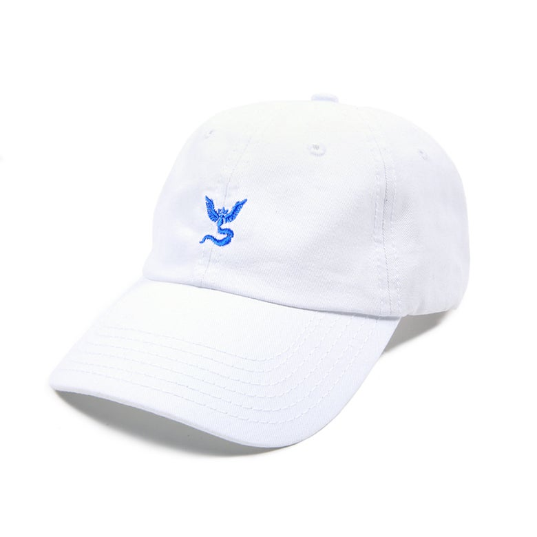 Image of Team Mystic Low Profile Sports Cap - White