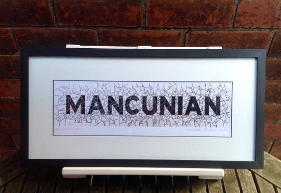 Image of MANCUNIAN PRINT FRAMED