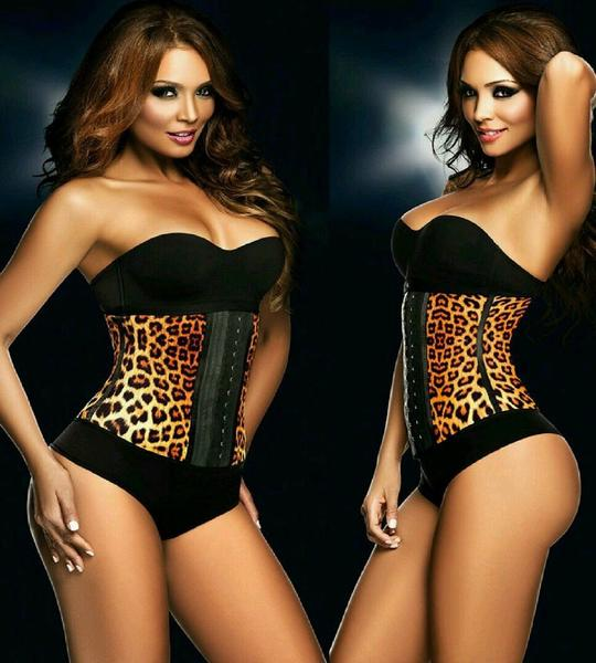 Image of ANIMAL PRINT LEILA WAIST TRAINER