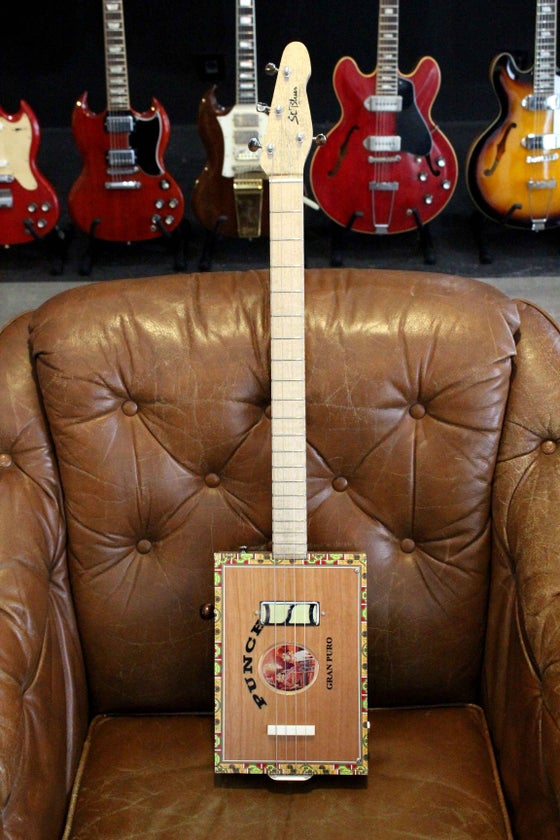 Image of St.Blues Cigar Box Guitar 4 Premium
