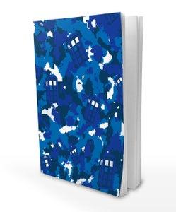 Image of Tardis Camo A5 Notebook