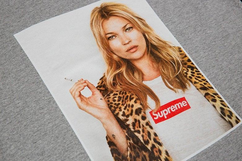 Image of Supreme Kate Moss Tee Grey XL