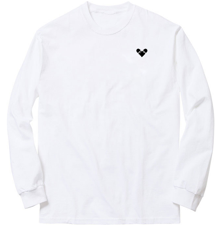 Image of Skateboard Heart - Long Sleeve
