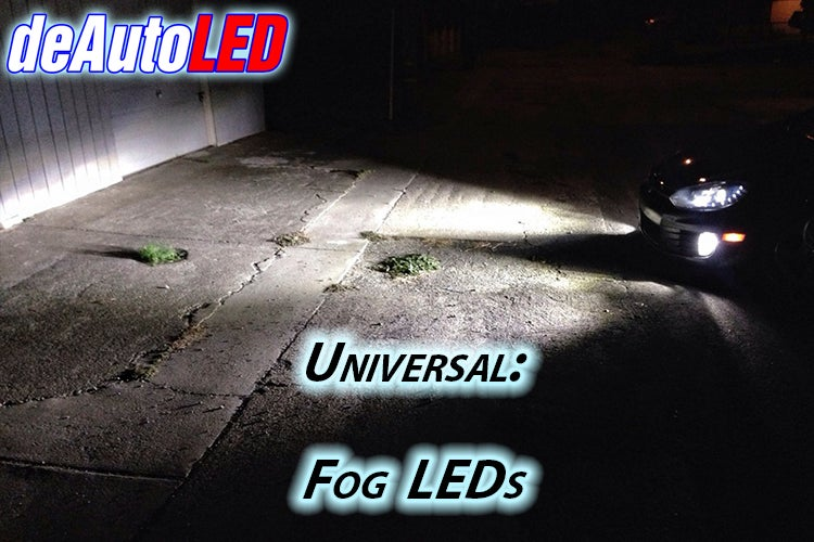 Image of LED Headlight/Fog CREE LED Bulb with Ballast - 9000 total lumens