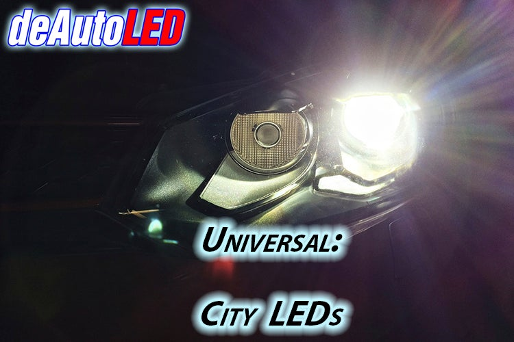 Image of City Lights: High Power CREE LED/Crisp Bright White/Error Free fits: All Cars VW/Audi Models