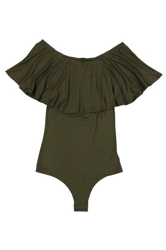 Image of Olive Bodysuit Lush