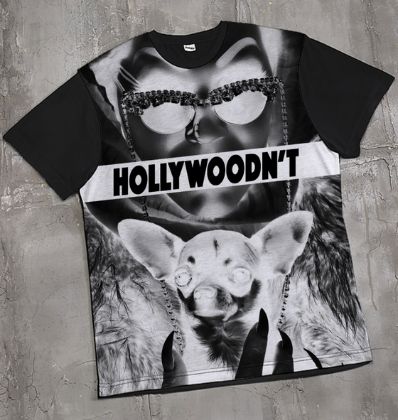 Image of LIMITED EDITION Hollywoodn't Tee