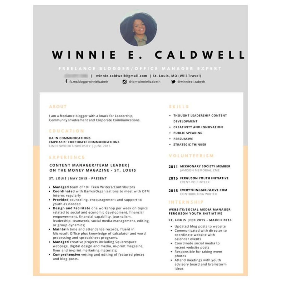 Image of Flexible Résumé Revising and Career Consultation