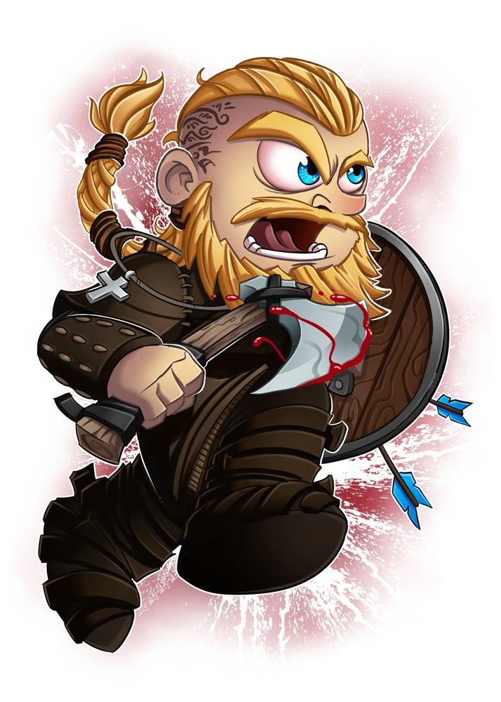 Image of Ragnar Lothbrok - Poster