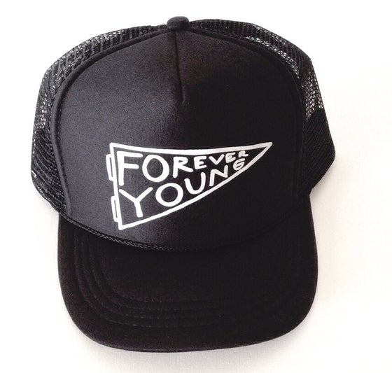 Image of FOREVER YOUNG BLACK HAT