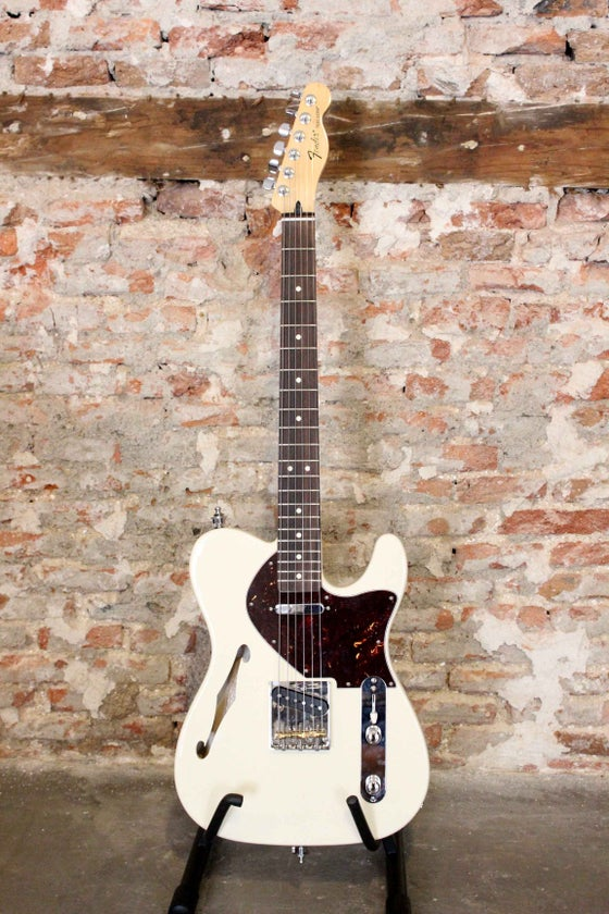 Image of Telecaster Thinline Blanca