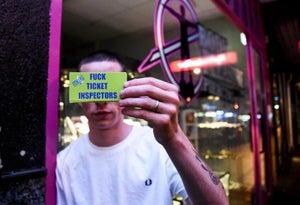 Image of Ticket Inspector Sticker