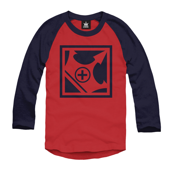 Image of LOGO RAGLAN - RED