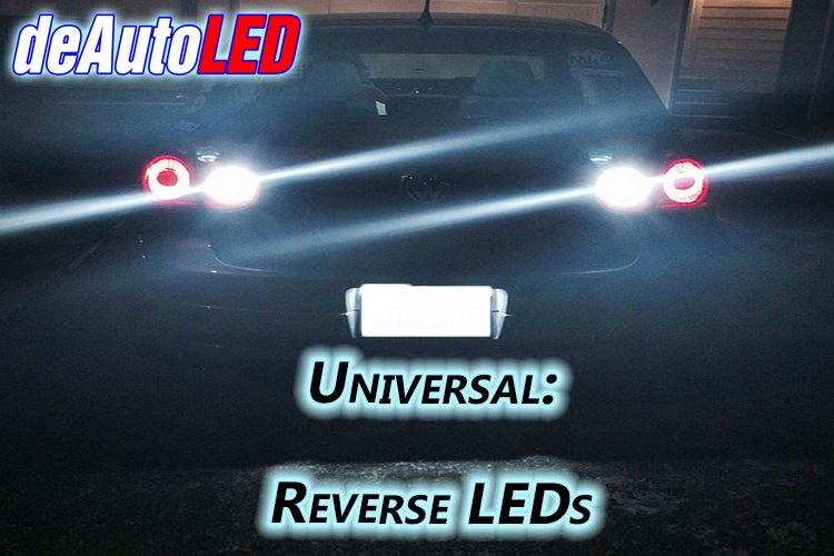 Image of Universal Reverse LEDs Fits: All Car Models
