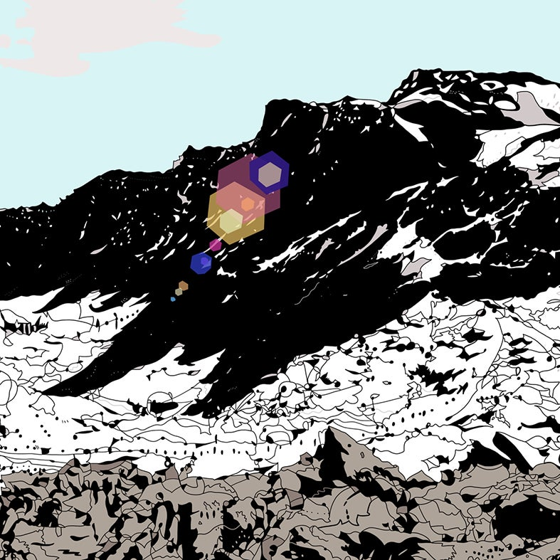 Image of Scottish Mountain digital print