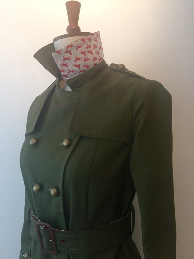 Image of Military Trench Coat