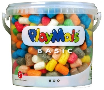 Image of PlayMais 500 Piece Bucket