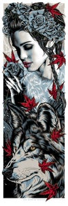 Image of LYANNA STARK art print - THE ROSE OF WINTER