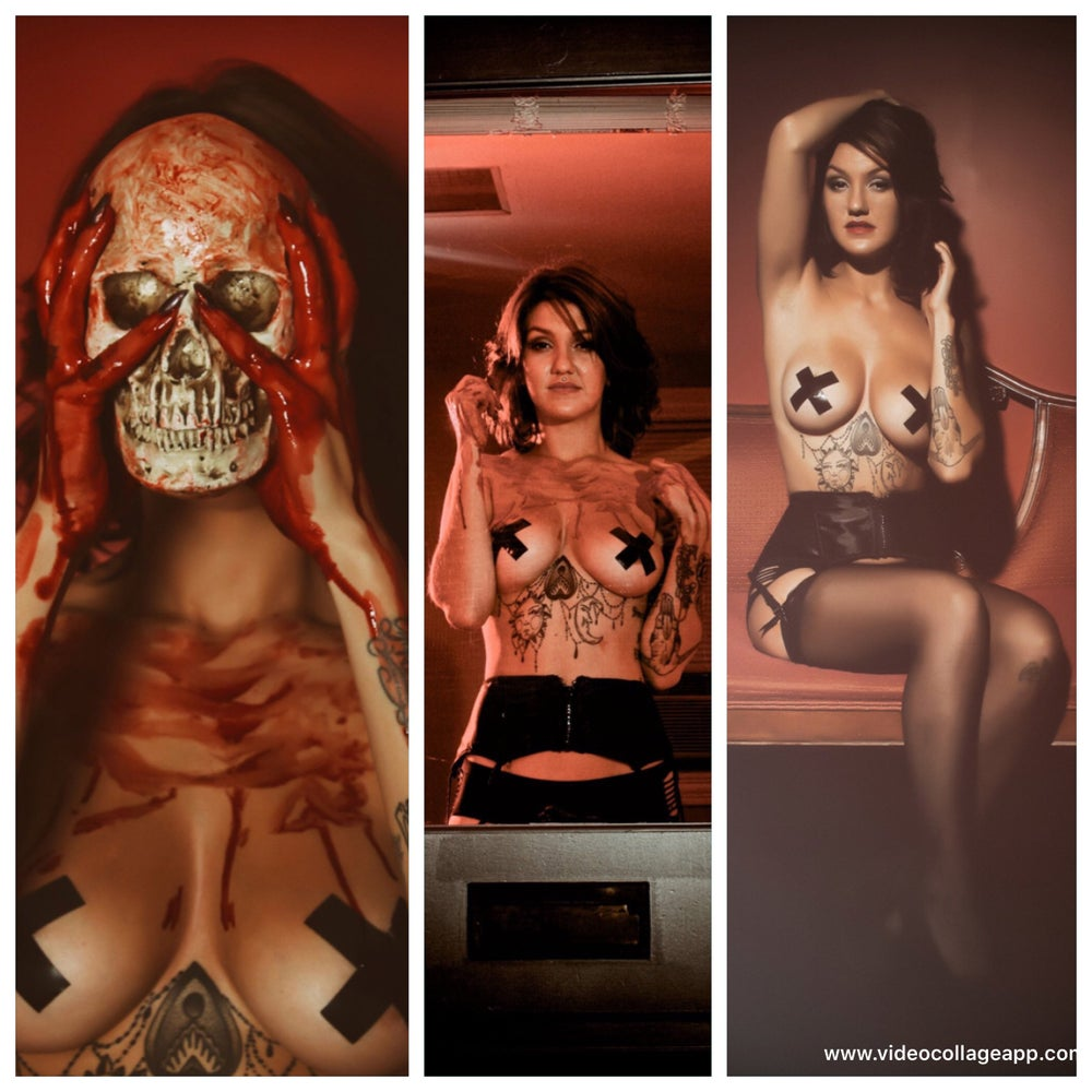 Image of Bloody Creature Poster Girl (set) (1,2 or 3 or all 3)