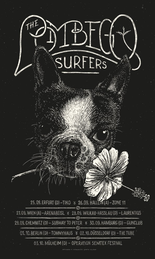 Image of »The Lombego Surfers« Gig-Poster