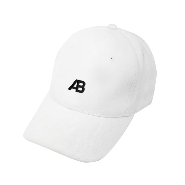 Image of AB EMBLEM CAP – WHITE