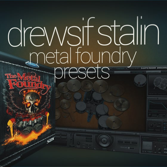 Image of Drewsif Stalin - Metal Foundry Presets
