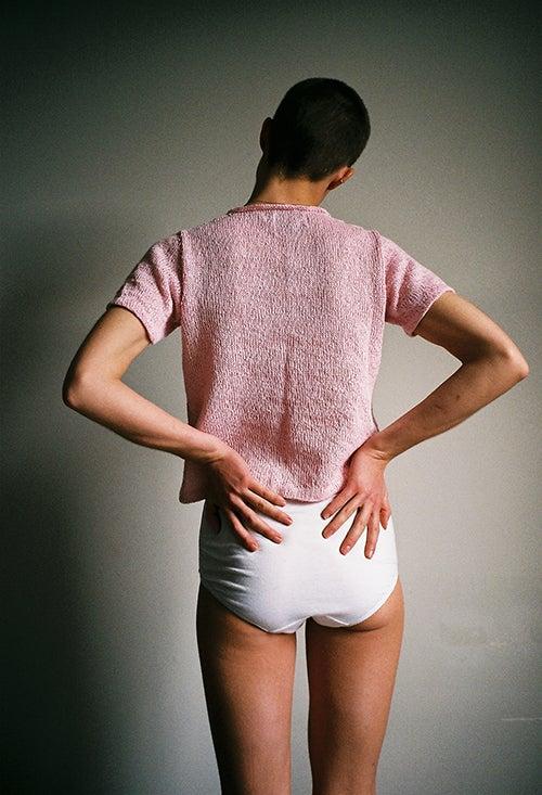 Image of Plain Linen T-Shirt