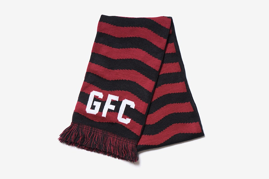 Image of Gastown F.C.<br>Striped Football Scarf