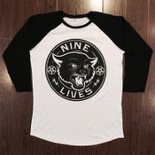 Image of Black Cat Raglan