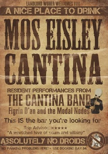 Image of Star Wars Dare to Wear exclusive Mos Eisley Cantina