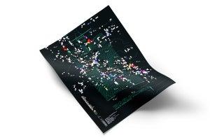 Image of GODREC0016 V.A. - Paradisia A1 350g matte poster