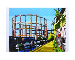 Image of <b>Bethnal Green gas holders</b> <br> - <b>Tomartacus</b>