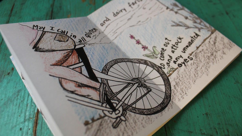 Image of The Short Shorts Biker Mini-Zine