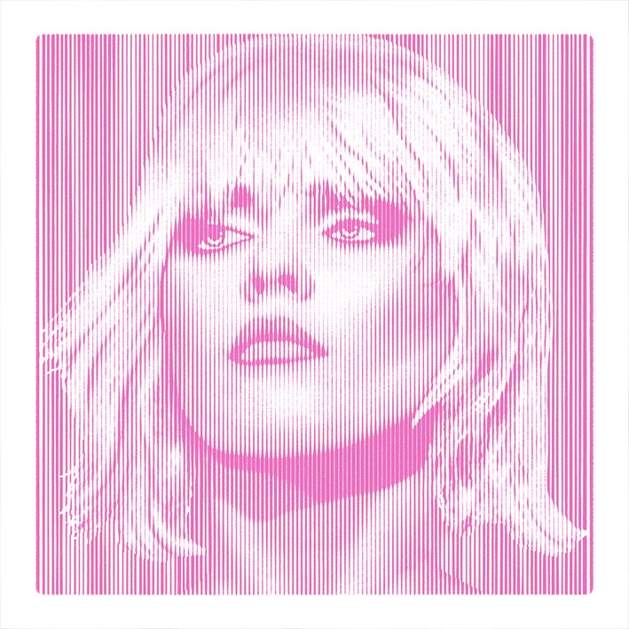 Image of DEBBIE HARRY... PARALLEL LINES  PINK EDITION of 25 only 3 prints left