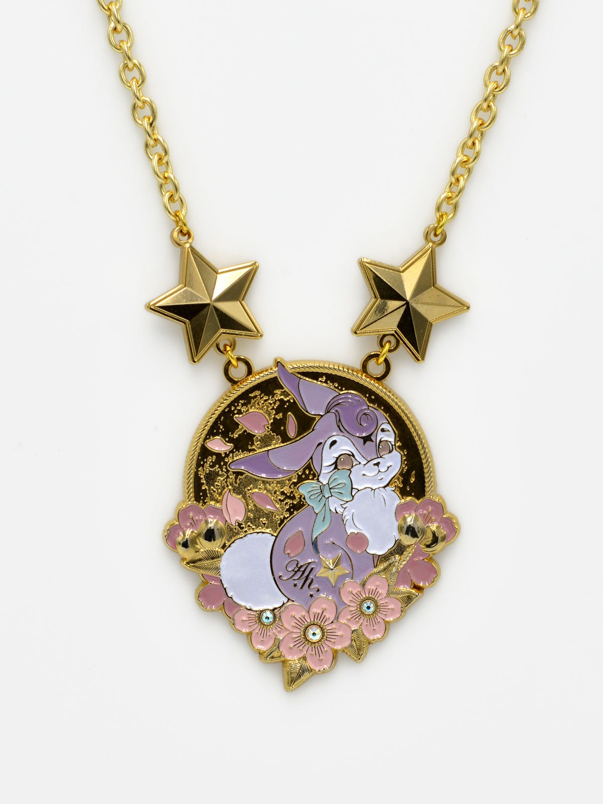 Image of Bunny Necklace · Lavender