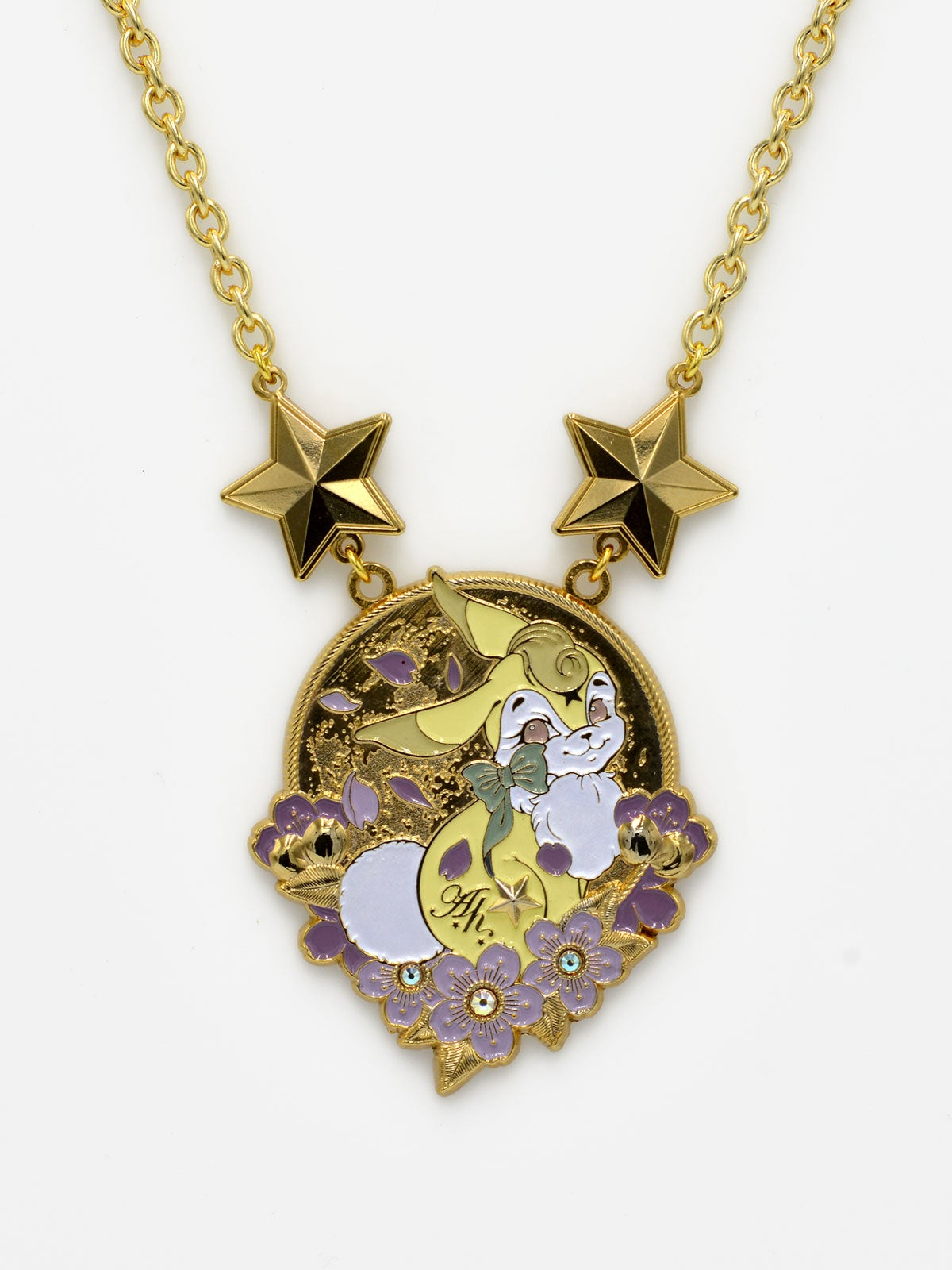 Image of Bunny Necklace · Yellow