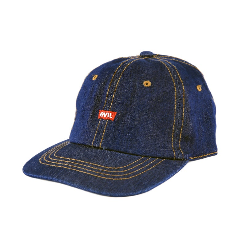 Image of  Evil Low Profile Sports Cap - Denim