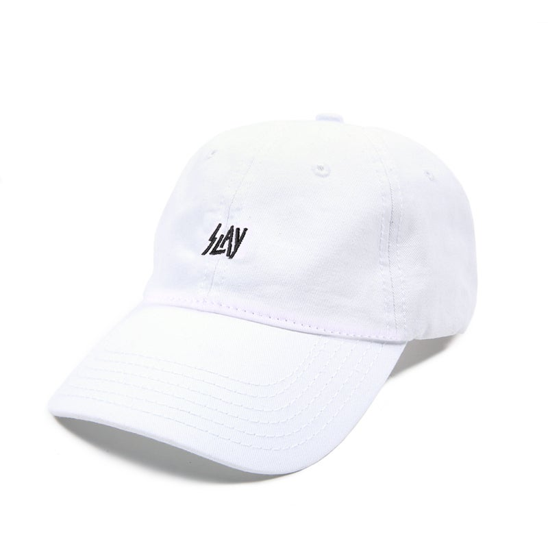 Image of  Slay Low Profile Sports Cap - White