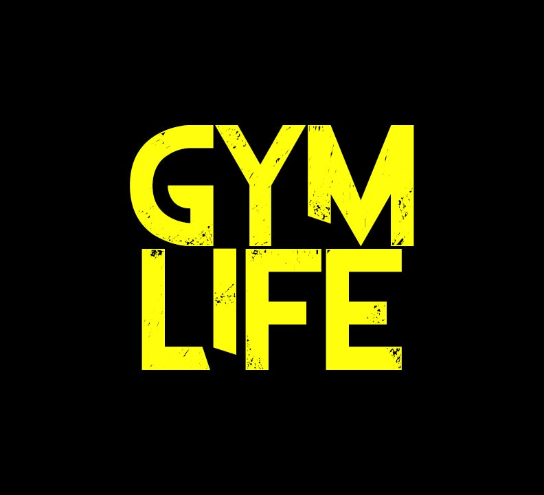 Image of GYM LIFE TEE - YELLOW