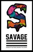 Image of Savage Colorful foral Shirt.